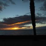 Sonnenuntergang in Los Cristianos